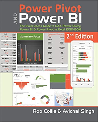 Power Query Power Pivot and Power BI The Excel Users Guide to DAX Power BI /& Power Pivot in Excel 2010-2016