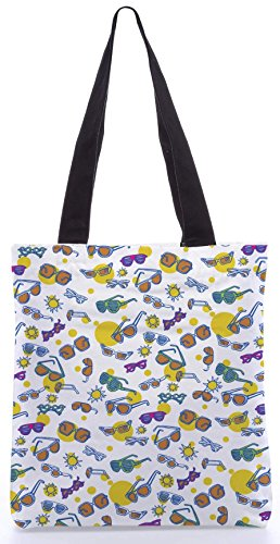 Snoogg The Beach Life13.5 X 15 Pollici Shopping Bag Realizzato In Tela Di Poliestere
