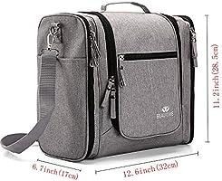 Amazon.com: Bolsa de aseo grande para hombre y mujer ...