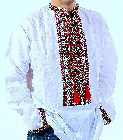 Ukrainian Men/'s Embroidered Shirt Vyshyvanka embroidery