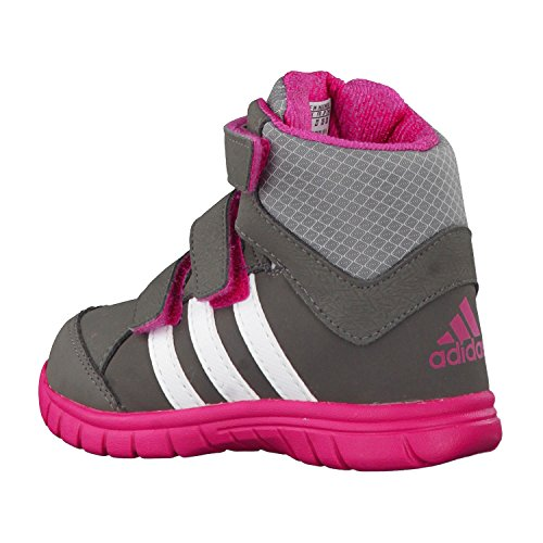 adidas Winter Mid I - Zapatillas de cross training unisex Gris / Rosa / Blanco