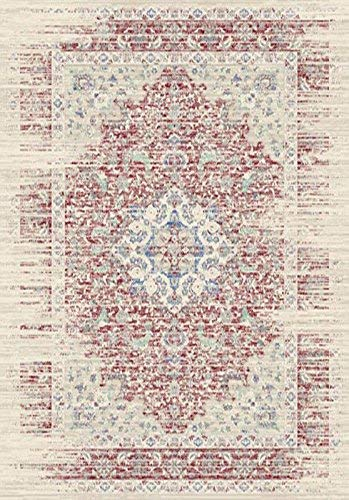 27x411ft Vintage Area Rugs A2Z Rug Alexandra-05792U10 Traditional Blue 80x150cm