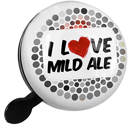 (NEONBLOND Bike Bell I Love Mild ale Beer Scooter or Bicycle Horn)