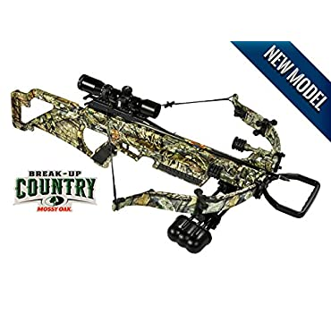 Excalibur Matrix Bulldog 330 Drop-Zone Scope Package, Mossy Oak Breakup Country