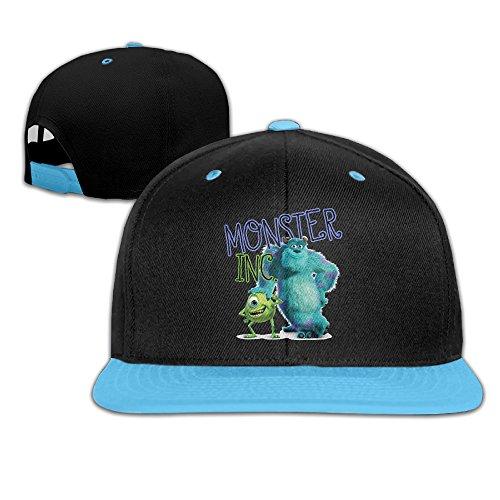 Monster Inc,Monster Customed Boy Girl Children Hip-hop Hat Cotton Comfortable Lovely