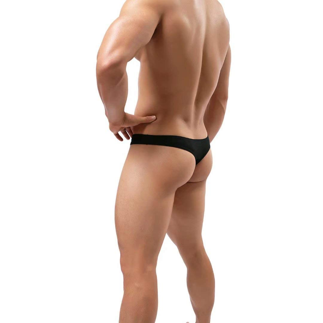 Pdbokew Mens Thongs Underwear G-String Quick-Drying Comfortable T-Back