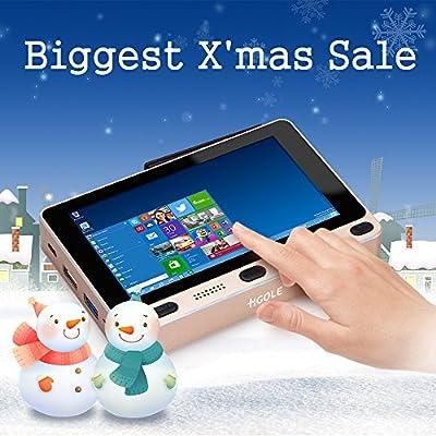GOLE1 5inch 1280X720 all in one mini tablet PC,Mini computer support Windows 10 & Android 5.1 Intel Cherrytrail z8300 quad core 4GB + 32GB