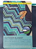 LightSpeed Outdoor Blanket Blue