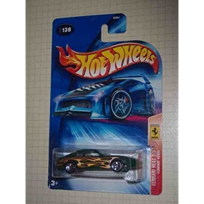 Hot Wheels Ferrari Heat Series #4 Ferrari 550 Maranello 5-Spoke Wheels #2004-131 Collectible Collector Car Mattel 1:64 Scale: Toys & Games