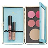 ULTIMATE Makeup Organizer - Carry Entire Makeup Look In Small Travel Case. Magnetic Palette Organizes Better Than Makeup Bag. Customizable Kit.