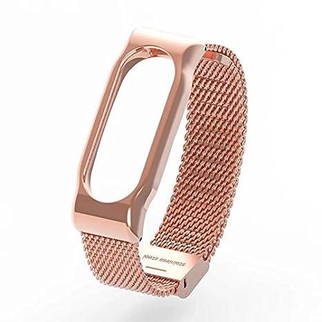 Amazon.com: Correa de reloj de acero inoxidable para Xiaomi ...