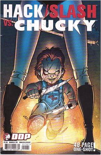 hack slash vs chucky 8821420007620 amazon com books
