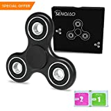 SENQIAO Tri Fidget Hand EDC Finger Spinner Toy Stress Reducer with Premier ...