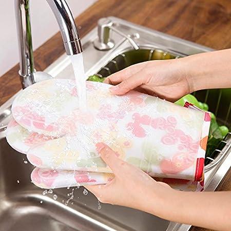 Enj antideslizante guantes de horno de cocina guantes para horno ...