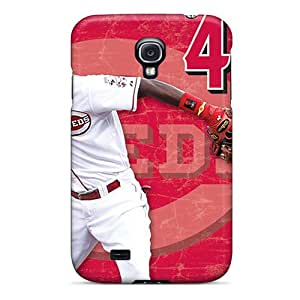 Protection Case For Galaxy S4 / Case Cover For Galaxy(cincinnati Reds)