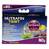 Nutrafin A7845 Nitrate Test 0.0 to 110.0 Mg/L for Fresh and Saltwater, 80-Tests