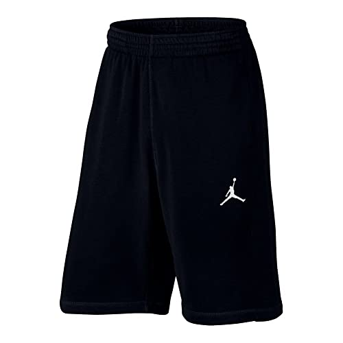 534747da4377 Nike Mens Jordan Flight Light Basketball Shorts Black White 809454-010 Size  Small