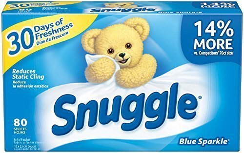 Dryer Sheets (2 Packs of 80 Counts) ()