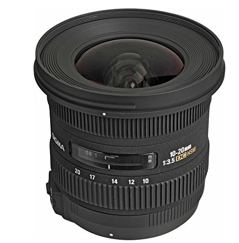 Sigma 10-20mm f/3.5 EX DC HSM ELD SLD Aspherical Super Wide Angle Lens