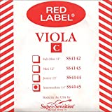 Supersens 14145 Red Label Viola C String, 14-Inch Intermediate Size