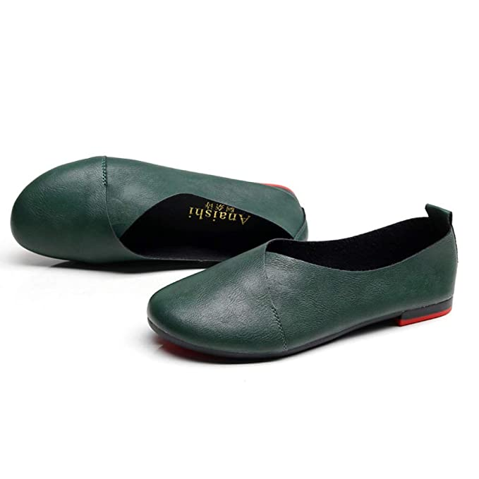 LITHAPP Zapatos De Trabajo Pisos Mocasines Bombas Zapatos Casual Zapatos De Mujer Zapatos De Ballet Cómodos Zapatos Para Bailar Zapatos Perezosos: ...