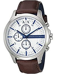Armani Exchange Men's AX2190 Smart Watch Analog Display Analog Quartz Brown Watch
