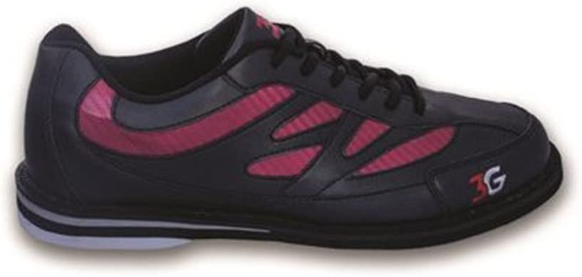 Size 7 3G Cruze Black//Red Mens Bowling Shoes