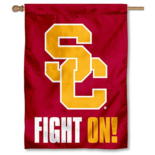 USC Fight On College House Flag