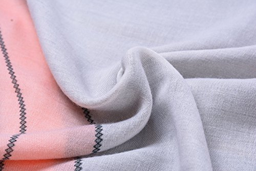 bufandas Colores Tul Colorido de mant 5 mezclados Anti mujer Bufandas Uv las Todas Larga fwqvSE