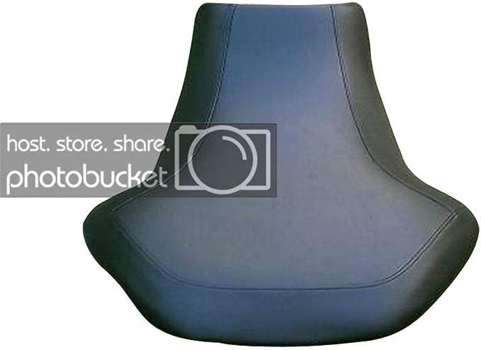 fits all years black gripper//Bonz camo deer skull Suzuki King Quad 450 700 750 seat cover