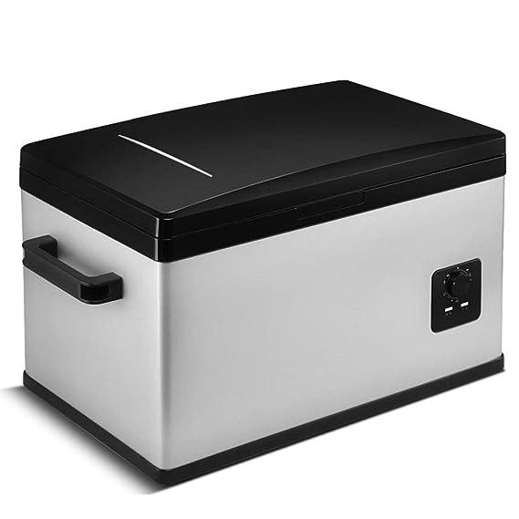 HUIQC Refrigerador portátil Caja de 25 litros de doble uso Mini ...