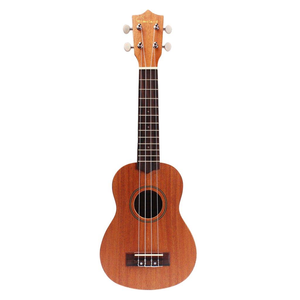 Ukelele Hawaiano Uke Guitarra Marrón