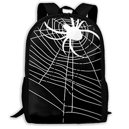 Pyta Adult Backpack Spider Web Daybag Backpacks Shoulder Bag College Travel Outdoor Camping Bags]()