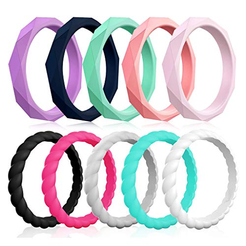 Silicone Stackable Affordable Colorful Comfortable