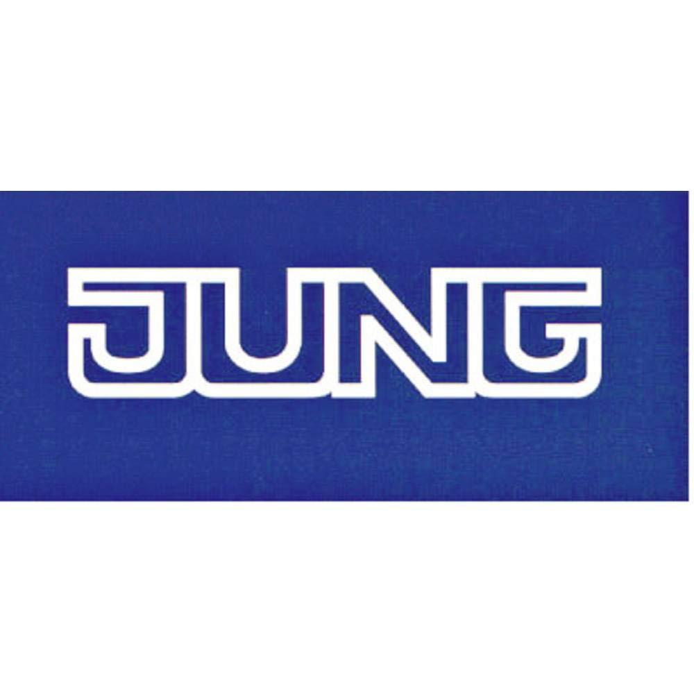 Jung 985 WW LS985WW Rahmen 5fach LS 990 alpinwei/ß