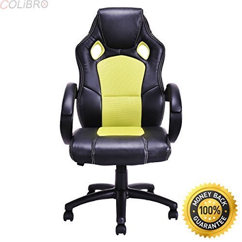 51PD1V0XyEL - COLIBROX-High-Back-Race-Car-Style-Bucket-Seat-Office-Desk-Chair-Gaming-Chair-Green-New-New-Modern-Style-Beautiful-Generous-And-Strong-Practicability-Comfortable-Attractive-Supportive