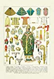 "Vestments/Headwear Fine Art Canvas Print (20""x30"")"