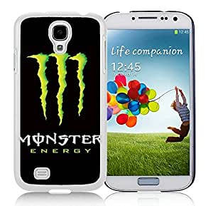 Monster White Samsung Galaxy S4 Cellphone Case DIY and Durable Cover