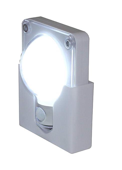 Soldela lámpara Punto de luz – Detector de Paso – 20 lumens – 4 LED –