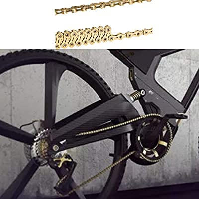 Toygogo Cadena de Bicicleta de 12 Velocidades Eslabones Conector de Acero Premium para Bicicletas de Cadena de 12 Velocidades
