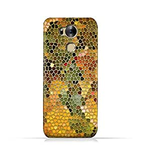 Infinix Zero 4 Plus X602 TPU Silicone Protective Case with Stained Glass Art Design
