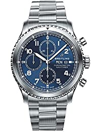 Blue Breitling Navitimer 8 Chronograph Calibre 13 Chronometer 43 (New 2018 Release)