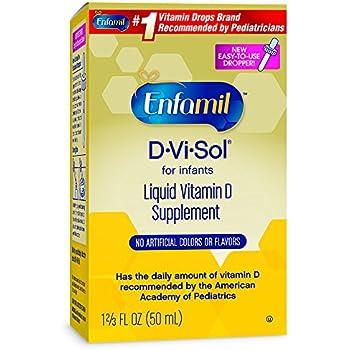 Amazon Com Enfamil Tri Vi Sol Vitamins A D Amp C