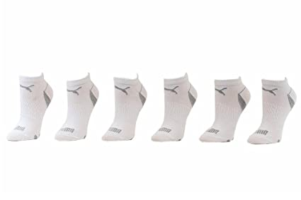 5db6d2ed1e5 Image Unavailable. Image not available for. Color  Puma 6 Pack No Show  Women s Sock Size 9-11