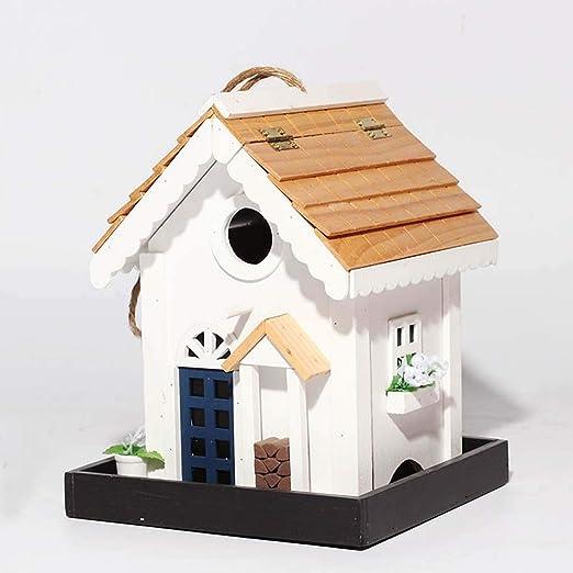 Birdhouses GONAProtección ecológica casa de pájaros Jaula de ...