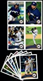 2011 Topps Milwaukee Brewers Complete Series 1 & 2 Team Set - Shipped in Deluxe Arcylic Case! 20 Cards including Braun, Hoffman, Weeks, Jeffress RC,Feilder, Marcum, Gallardo & more!