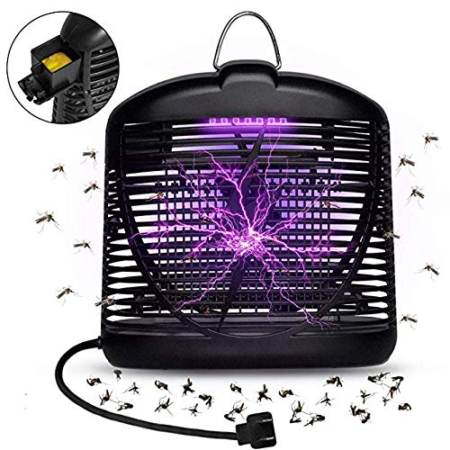 QUTOP Electric Insect Killer, Bug Zapper Fly Trap Mosquito Pests Catcher Lamp - for Indoor Outdoor Use (4 Bar Lightwave)