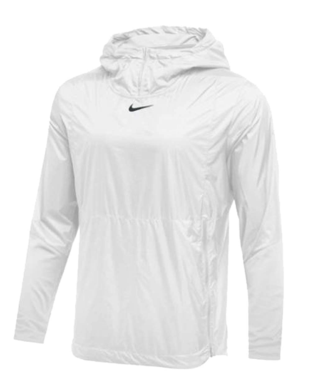 Nike Mens Authentic Collection Lightweight Fly Rush Jacket White//Black Size XL