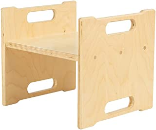 product image for Little Colorado Modern Toddler Step Stool, Unfinished