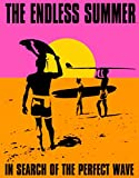 Endless Summer Surfing Movie Sign , 13x16